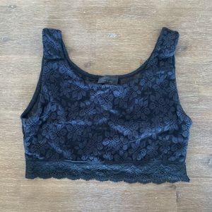 ⭐️ 2 for $15 ⭐️ Topshop Lace Cropped Tank Top